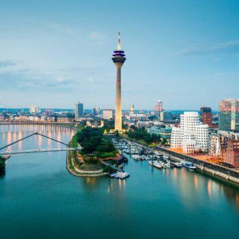 Medienhafen Düsseldorf Luftbild