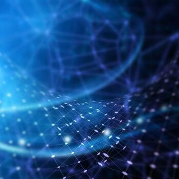 3D Hintergrund für den Datenschutz